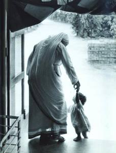 Mother Teresa and child