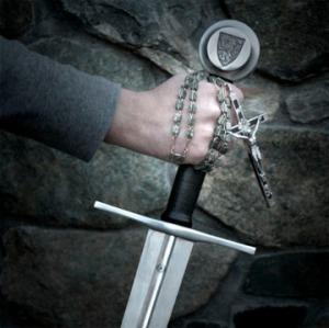 Rosary sword