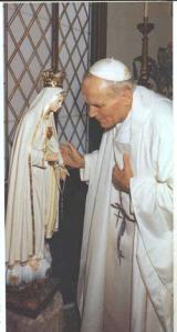 Pope John Paul and Our Lady of Fatima