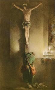 Return crucifix