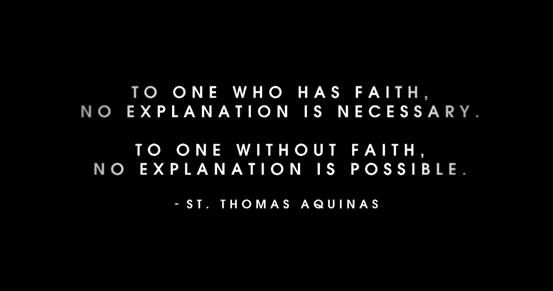 Great quote by St. Thomas Aquinas | Love Being Catholic