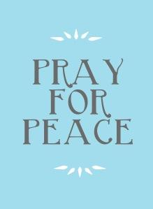 peace pray