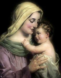Mary and Little Jesus