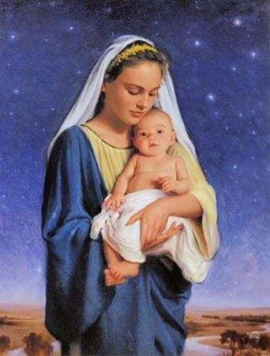mary and jesus sweet