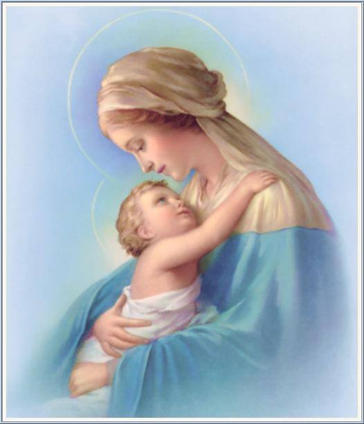 Mothers Day Mary and Jesus